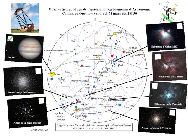 Astronomie. Carte du ciel