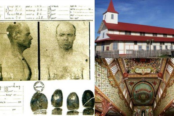 Le bagnard Huguet et l'église d'Iracoubo