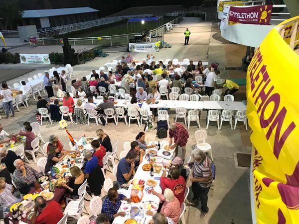 Table de l'amitié 2019, hippodrome de Nouméa
