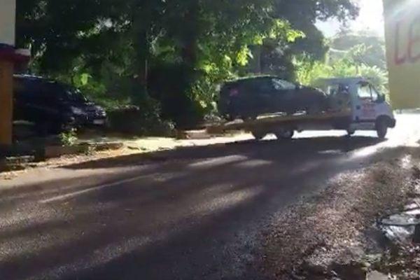 voiture présumée du braquage