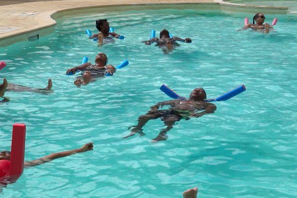 Sylvain Plancy : à la piscine du CAS EDF