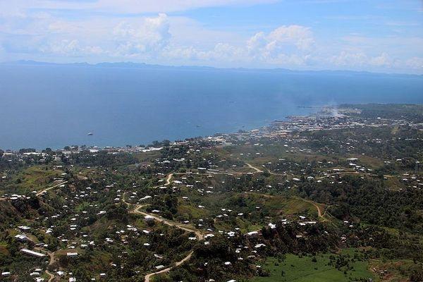 Honiara. Salomon