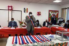 Moise Edwin le nouveau maire de Apatou