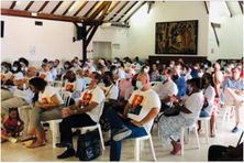 Meeting de Renaissance Martinique, lors de la campagne des élections de la CTM