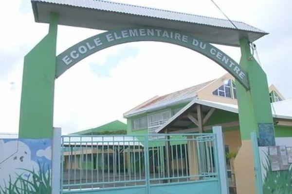 Ecole élémentaire du centre à Saint-Philippe