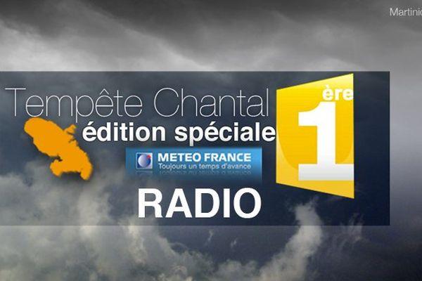 Tempête Chantal : édition spéciale (radio)