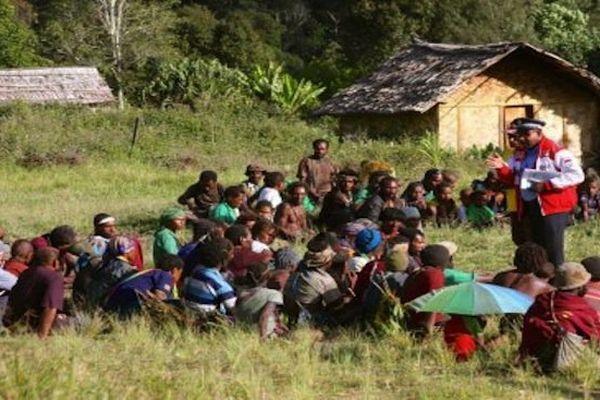 Crimes pour magie noire en Papouasie
