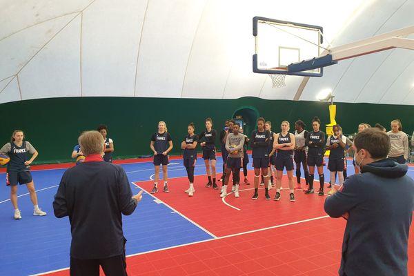 Les tricolores du basket 3x3 ont été regroupées en novembre et février.