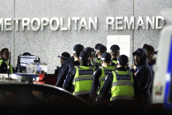 émeute melbourne prison