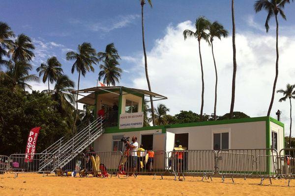 Dispositif surveillance plage 2016 à Cayenne