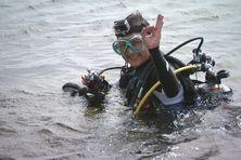Marie-Christine Cacot plonge depuis près de 40 ans.