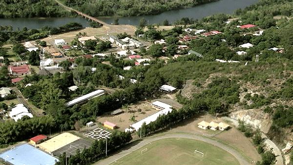 thio village - vue du ciel