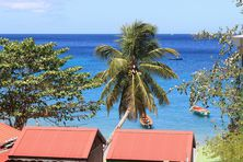 Paysage du sud Martinique.