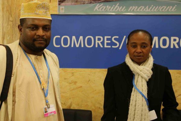 Stand des Comores à la COP21