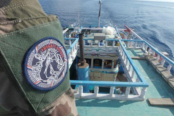 FAZSOI Nivôse saisie 300 kg héroïne au large de la Somalie 200421