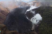 Dôme de la Soufrière de Saint-Vincent