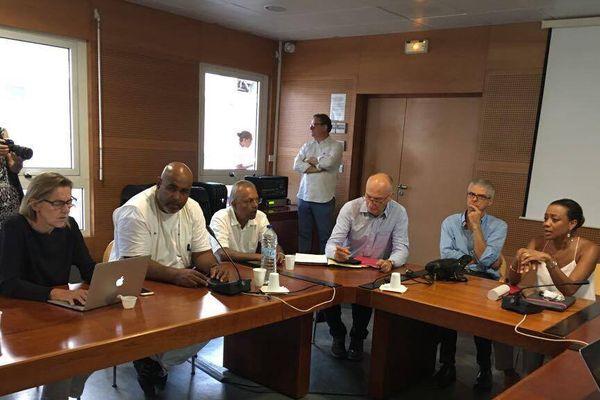 Réunion de la Commission médiale d'établissement du CHU 2