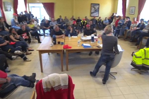 grève mairie Saint-Pierre