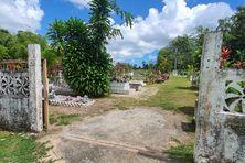 L'entrée du cimetière d'Iracoubo