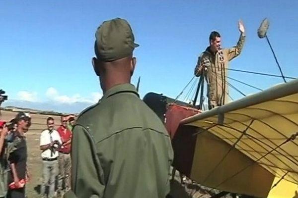 Réplic'Air : Baptiste salis se pose à Bizerte