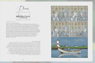 Les doris de Saint-Pierre et Miquelon dessinés par Luko