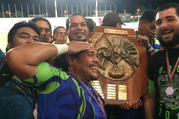 URCD Union rugby club Dumbéa champion Calédonie rugby à quinze (23 septembre 2017)