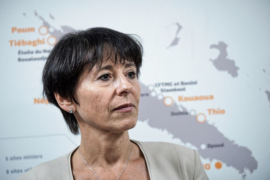 Nickel : Christel Bories, la PDG d'Eramet, critiquée pour son soutien à la SLN - Nouvelle-Calédonie la 1ère