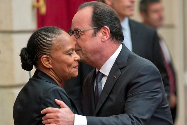 Taubira et Hollande