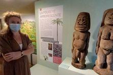 Anne-Laure Aubail, chargée des collections au Centre Culturel Tjibaou