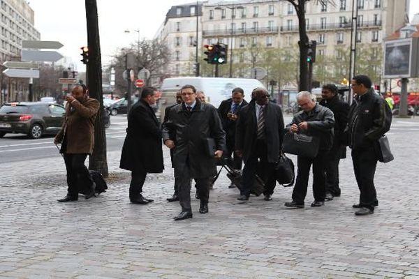 délégation filière carburants Bercy