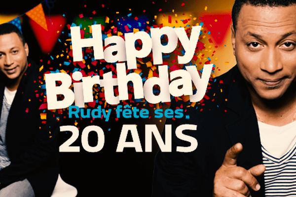 Rudy Icaré fête ses 20 ans