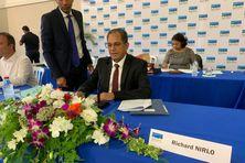A Sainte-Marie, Richard Nirlo a repris ses fonctions de maire, ce dimanche 5 juillet, lors de l'installation du conseil municipal.