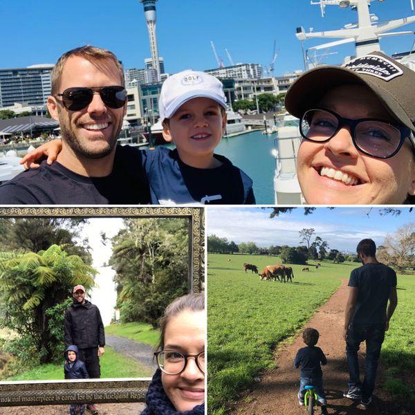 Anaël, Audrey et Roman se sont installés à Auckland en septembre 2017