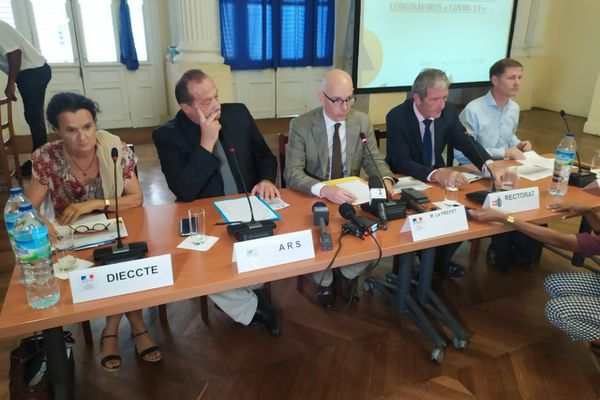Conférence de presse préfecture