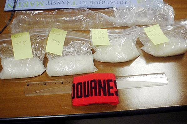 Une saisie d'Ice en Polynésie en 2006 (image d'illustration).