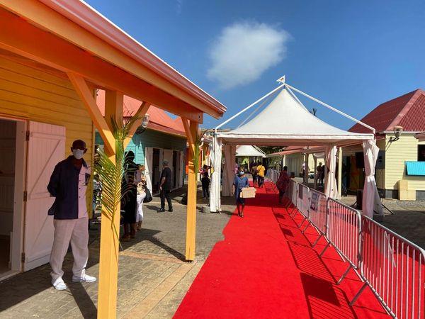 Inauguration du village artisanal de Capesterre Belle Eau
