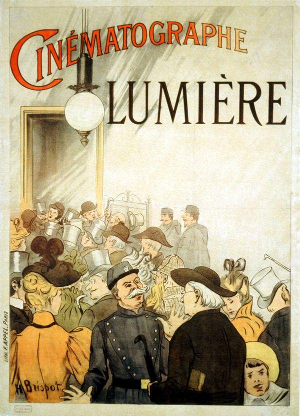 Affiche cinéma frères Lumières