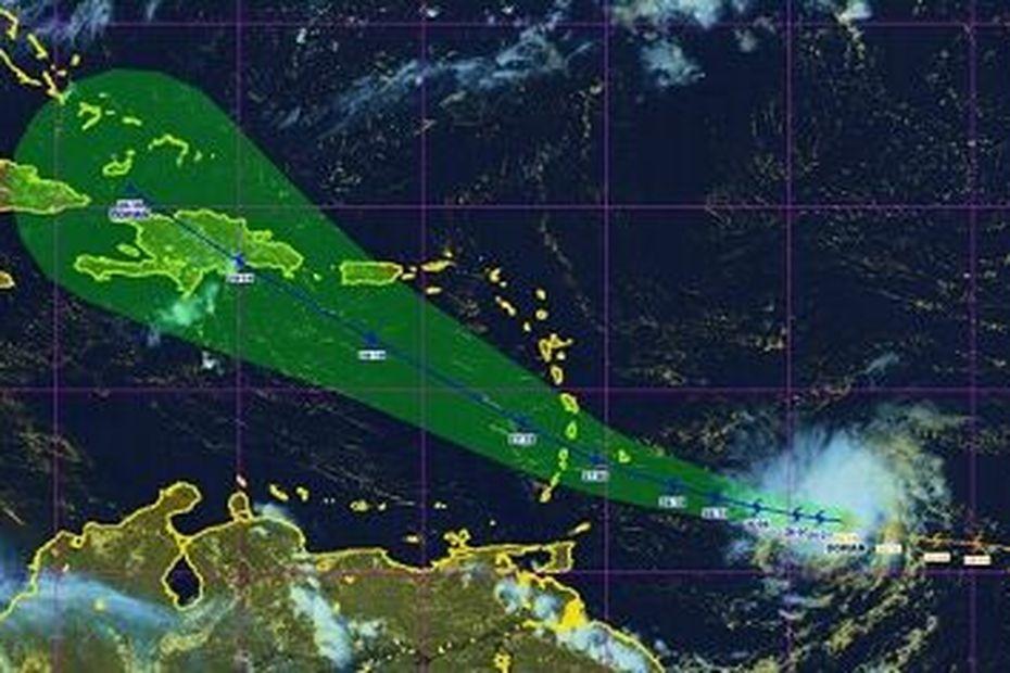 La tempête tropicale Dorian menace la moitié Sud de l'Arc Antillais - Guadeloupe la 1ère