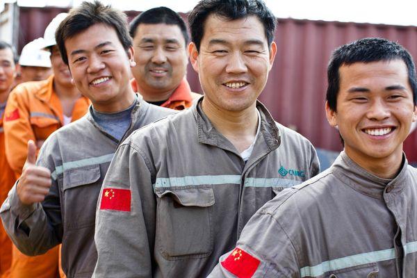 Nickel - métallurgistes chinois / usine du Nord
