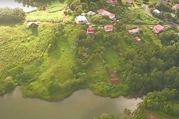 Vue aérienne Martinique