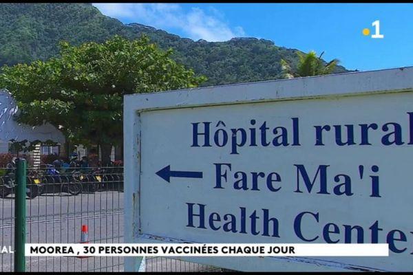Les vaccinations ont débuté à Moorea