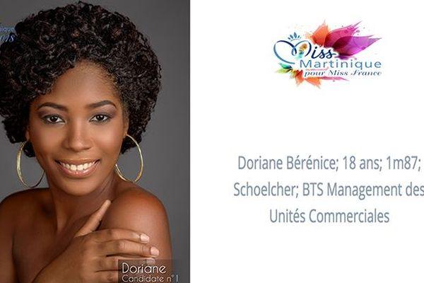 Miss 1 Doriane Bérénice