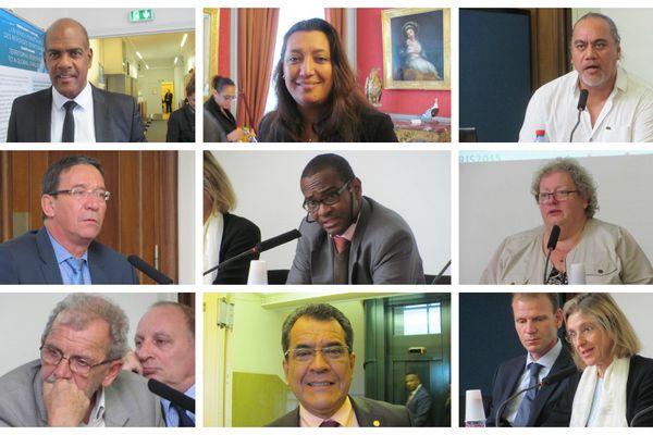Participants au colloque sur les Outre-mer et les changements climatiques