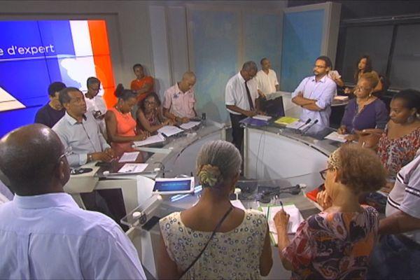 Plateau télé Martinique 1ère