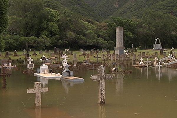 Un cimetière sous les eaux