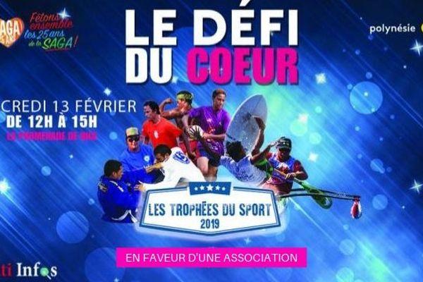 Trophées du Sport : un défi sportif en faveur de la Saga