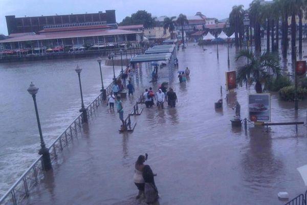 Inondation à Maurice