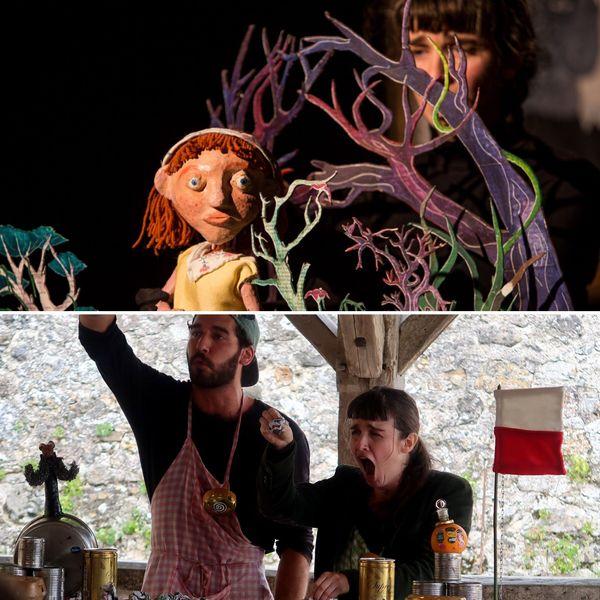 Comédienne, Margaux s'est spécialisée dans le spectacle de marionnettes