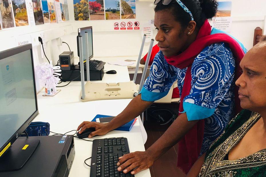 Kaala-Gomen surfe sur le numérique - Nouvelle-Calédonie la 1ère