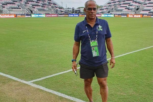 Louis Lafontaine préparateur de la sélection de Guyane